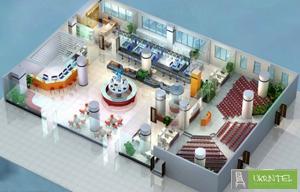 Дизайн офиса в 3D